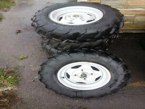 Rims and Tires for Yamaha Grizzly 700