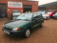 Toyota Starlet 1.3 Sportif, Green, 5dr Hatchback, **ANY PX WELCOME**