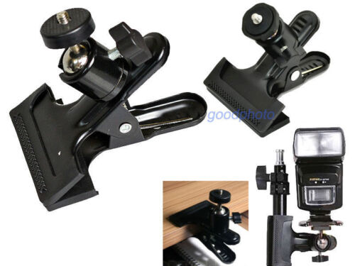 Photography Studio Clamp with Ball Head for Camera/Flash/tripod/stand