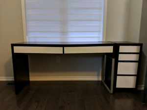 IKEA Micke desk and drawers