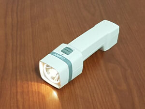 RECHARGEABLE FLASHLIGHT.$7.