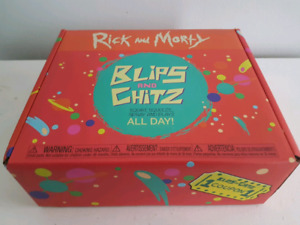 Rick and Morty Blips and Chitz Funko Box