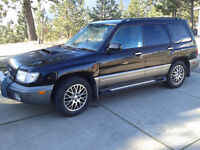 1997 Subaru Forester SUV, RIGHTHAND DRIVE