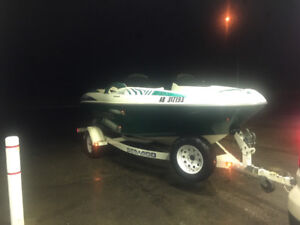 For sale or trade 1997 seadoo challenger 1800 2x 787cc