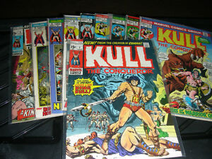KULL, Conqueror  (pick and choose)