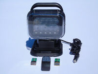 REMOTE CONTROLLED LED SEARCH LIGHT ROTATES UP/DOWN LEFT/RIGHT