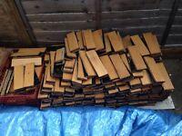 Flooring oak parquet