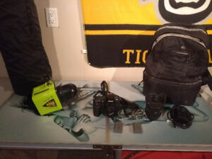 Nikon D300 with lenses, lighting & accessories