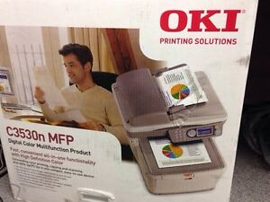 OKI all in one colour printer C3530N MFP West Island Greater Montréal image 1