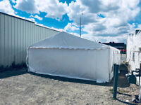 20x40 event tent for rental