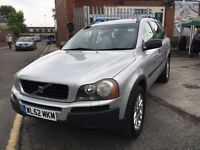 VOLVO XC90 2.4 D5 SE GT DIESEL AUTOMATIC LEATHER 7 SEATER 2003