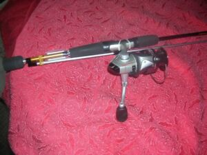 New Quantum Axil Fishing Rod and Spinning Reel