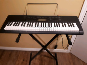 Casio Electronic Keyboard CTK-3200 + Stand