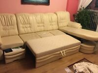 Free leather sofa bed