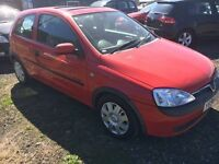 Vauxhall Corsa Comfort 998cc 2001 * MOT EXPIRED * SPARES OR REPAIRS * BARGAIN * TO CLEAR