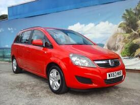 2013 VAUXHALL ZAFIRA EXCLUSIV 7 SEATER ONE OWNER LOW MILEAGE PETROL