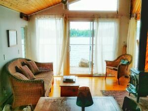 Cottage for Rent - Bobs Lake Waterfront includes Pontoon Boat