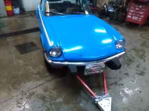 78 triumph spitfire with overdrive.  this is the one you want
