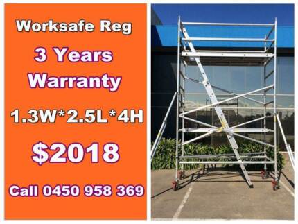 NEW 4M High Aluminum Scaffold Tower Worksafe Reg Dandenong South Greater Dandenong Preview
