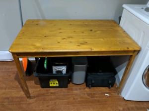 Kirchen table / desk ! Solid wood :) movong sale!