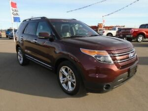 2012 Ford Explorer Limited 4WD w/Navigation, Remote Start, Heate
