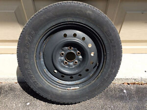 215X70X16 4 Steel rims with tires
