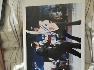 John travolta signed 8x10 with coa West Island Greater Montréal image 1