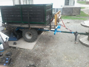 Homemade atv roll off trailer one of a kind