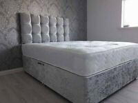 🛏🚚 Brand New DIVAN BEDS * Made in UK * FREE HEADBOARD + DELIVERY 🛏🚚