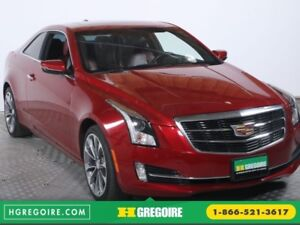 2015 Cadillac ATS COUPE LUXURY AWD CUIR ROUGE TOIT NAVI MAGS