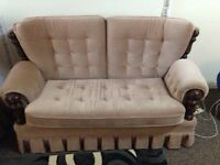 Sofas and recliner with arm rest 2 of each