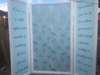 Room divider/ photo screen wedding