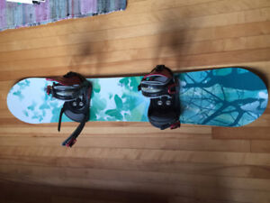 Snowboard and boots, $125 OBO