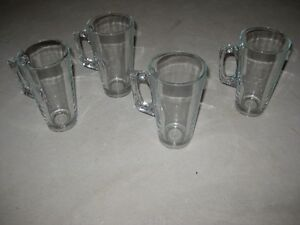4 Glass Latte Glasses - $5.00 obo Kitchener / Waterloo Kitchener Area image 3
