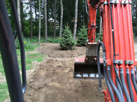 Mini Excavator Services-Residential/Commercial