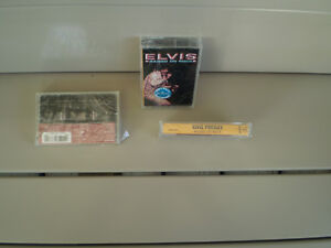 Elvis Presley/raised on rock 1973 & blue hawaii cassette 4 track