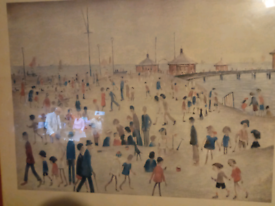 Ls Lowry picture frame