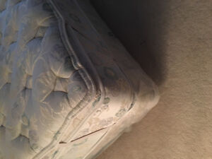 King mattress, box and frame - like new - best offer