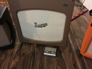 "Supro tremolectric 50 3X10"" combo amp"