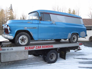 Does anyone remember this blue 1955 Chev panel from Leduc?