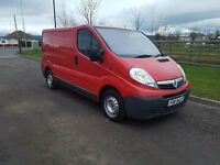 NO VAT 2009 09 VAUXHALL VIVARO 2.0 CDTI SWB 2700, ONE FORMER KEEPER, PX WELCOME