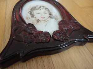Vintage wooden handcarved picture photo frame decorative London Ontario image 2