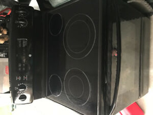 Black Stove, Black Fridge and Black Microwave