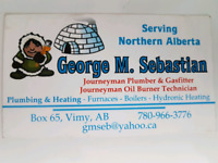 PLUMBING, GAS, OIL FIRED FURNACES AND BOILERS.