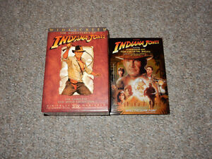 Indiana Jones DVD Collection ALL 4 FILMS