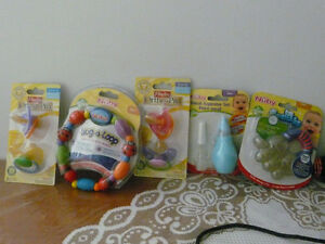 Brand New infant Teethers, Pacifires and others