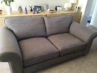 2 and 3 seater fabric sofa nearly new - Offers considered
