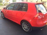 VW GOLF GT SPORT 2.0 TDI DIESEL MANUAL MK5 - 1 OWNER - a3 gti r32 1.6 1.9 1.4 audi bmw a4 dsg