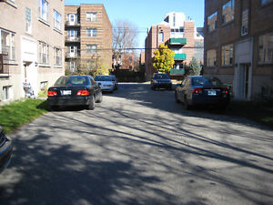 OUTDOOR PARKING - RESERVED SPACE -GRAND BLVD. -NDG