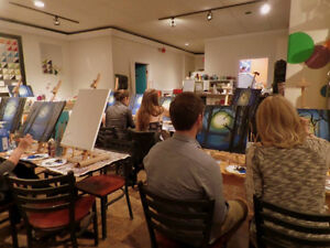 Wine and Painting Fun Parties! St. John's Newfoundland image 1